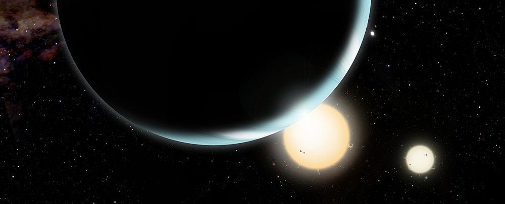 拥有两个太阳的塔图因行星距离恒星或很遥远