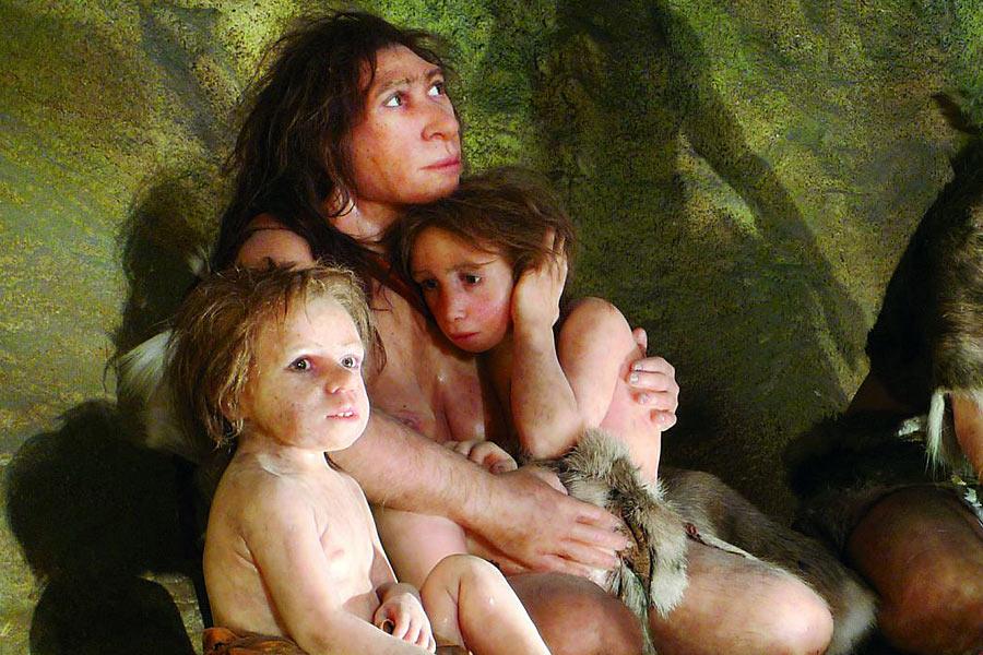 研究人员利用以色列Tabun的一个骨盆化石重建了一个尼安德特女人的产道尺寸和形状,他们发现,尽管产道存在差异,人类和尼安德特人的产道的尺寸几乎和新生儿大小比例一样,这说明尼安德特人和人类一样分娩困难。