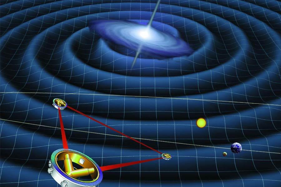 """原初引力波相当于大爆炸的""""余响"""",帮助人们追溯到大爆炸后短暂的急剧膨胀时期,即""""暴涨时期""""。科学家称这是证明宇宙大爆炸的最直接证据。它的发现如同光线的弯曲、水星的近日点进动以及引力红移效应的发现,再次证明了爱因斯坦的正确。"""