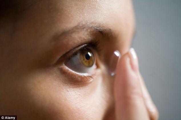 智能隐形眼镜曝光:让佩戴者有红外夜视能力