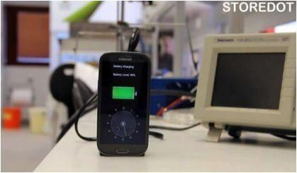 30秒将智能手机电池充满的超级充电器曝光