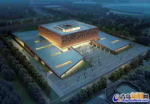 山东大学博物馆-山大青岛校区全面开建 海量效果图发布 组图图片