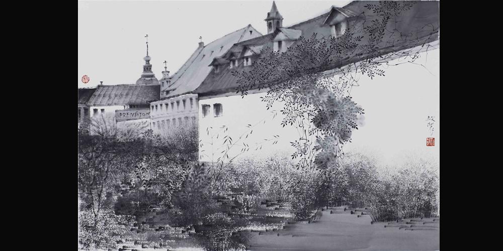 教堂-斯洛伐克 64x46cm