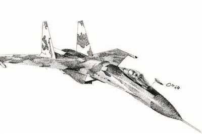 南航女生手绘飞机惊艳网友:用画笔绘出自己的航空梦