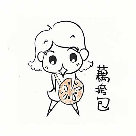 可爱火锅简笔画