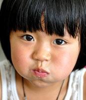 湖湘助学行收集的孩子笑脸