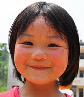 美丽童行湘西孩子的笑脸