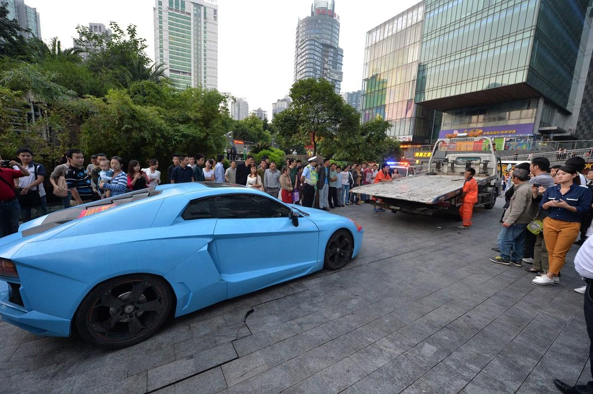 观音桥现山寨 兰博基尼 起价9.8万 重庆频道 凤凰网 高清图片