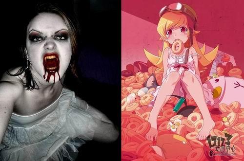 电影中的男性吸血鬼形象变得淡薄;二是在于美女吸血