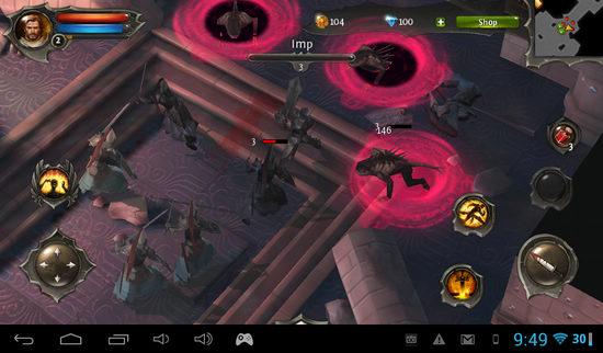 gameloft大作《地牢猎人4》新图:场景华丽