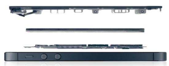 """苹果/图3:苹果iPhone 5""""解剖示意图"""""""