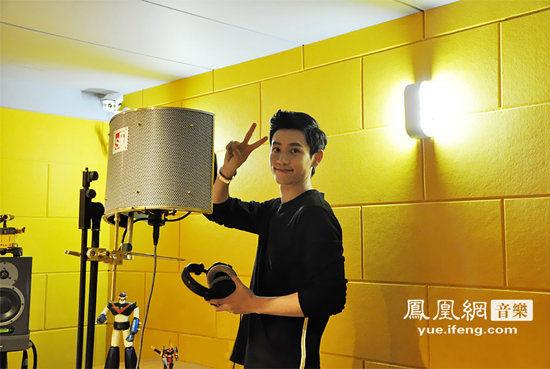 魏晨2014全新唱片录歌花絮组图曝光