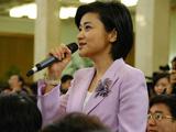 吴小莉:多次幸运地成为总理记者会提问