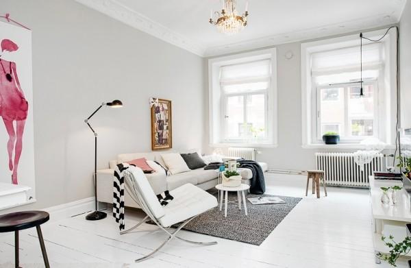 瑞典56平米单身女子公寓