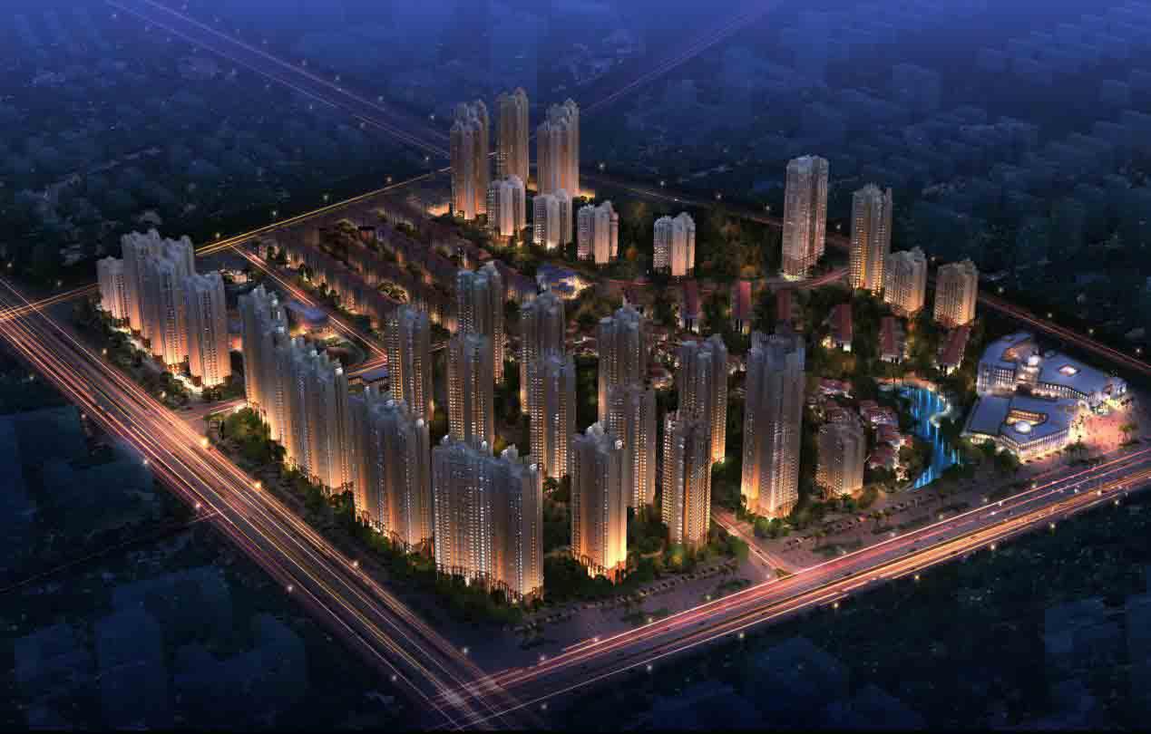 北京高层中式豪宅