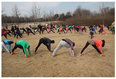 李宁奥森跑步服务现身奥森公园 专业跑步服务开启完美跑步体验