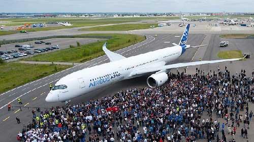消息人士:空中客车a350飞机或将于下周首飞