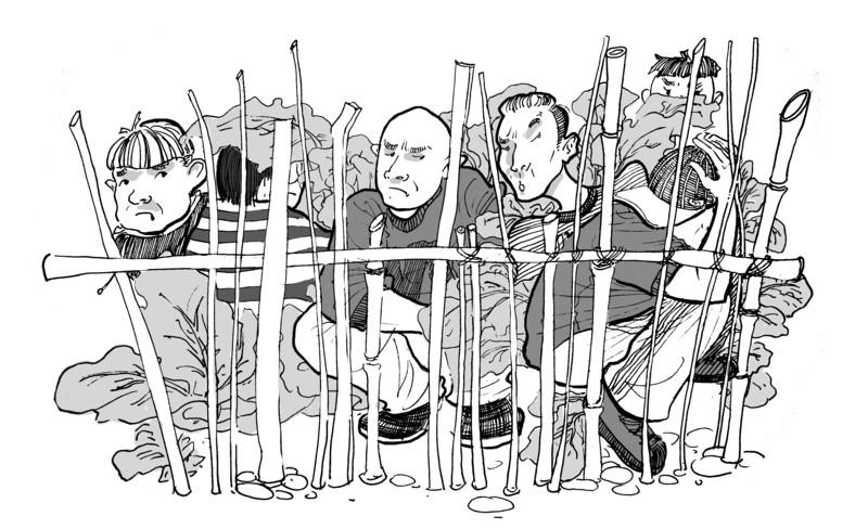 动漫 简笔画 卡通 漫画 手绘 头像 线稿 800_488