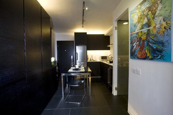 彰显男性高品位 简约不简单的单身小户型公寓