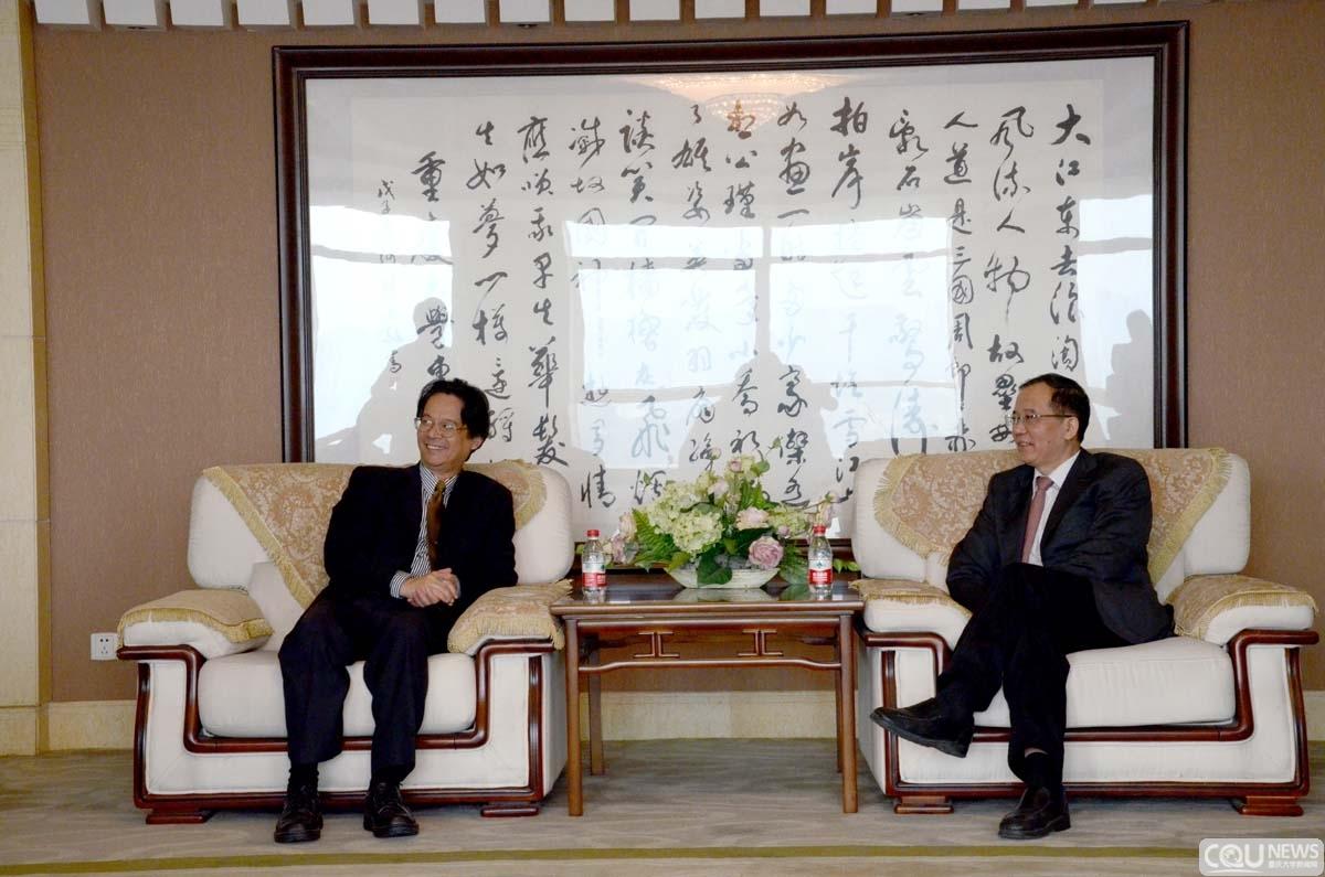校园安全管理座谈会在重庆大学召开