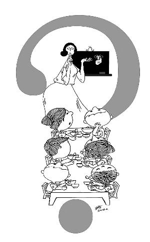 办好孩子吃饭这件事:科学的饮食,良好的用餐习惯是保证幼儿健康的图片