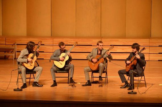 古典吉他四重奏音乐会在北航晨兴音乐厅上演