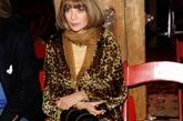 安娜·温图尔 (Anna Wintour) 时装周第四天再次亲临秀场,豹纹批身,彰显王者风范。