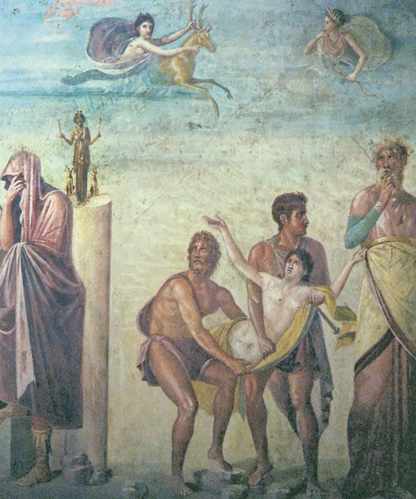 欧式神话美女油画