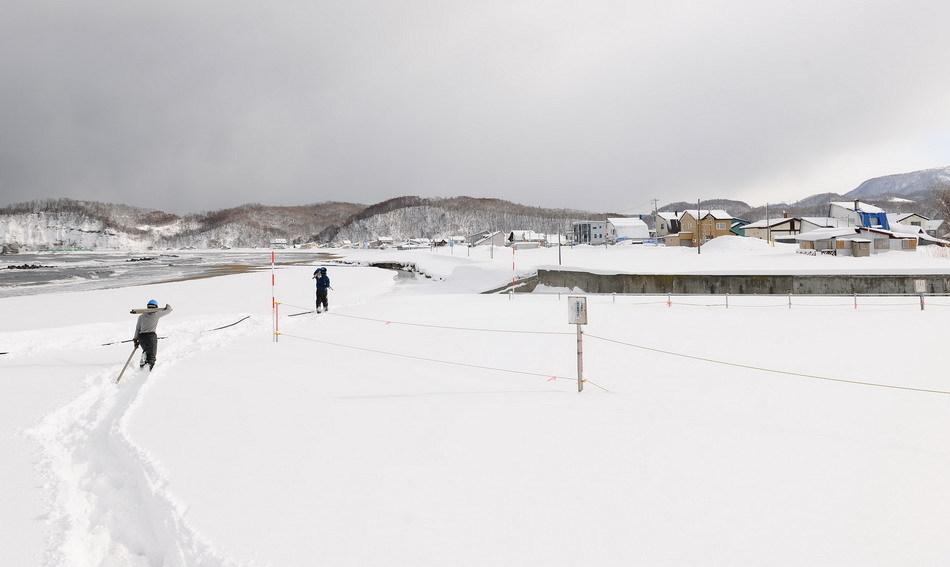 日本 北海道/冬日的北海道。