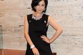 2011年9月27日讯,意大利,当地时间9月26日,刘嘉玲以品牌总代理的身分在米兰时装周接受媒体访问。