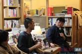 冯唐、罗永浩在凤凰网读书会现场