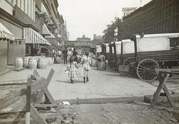 百年前纽约旧照首次曝光令人震撼