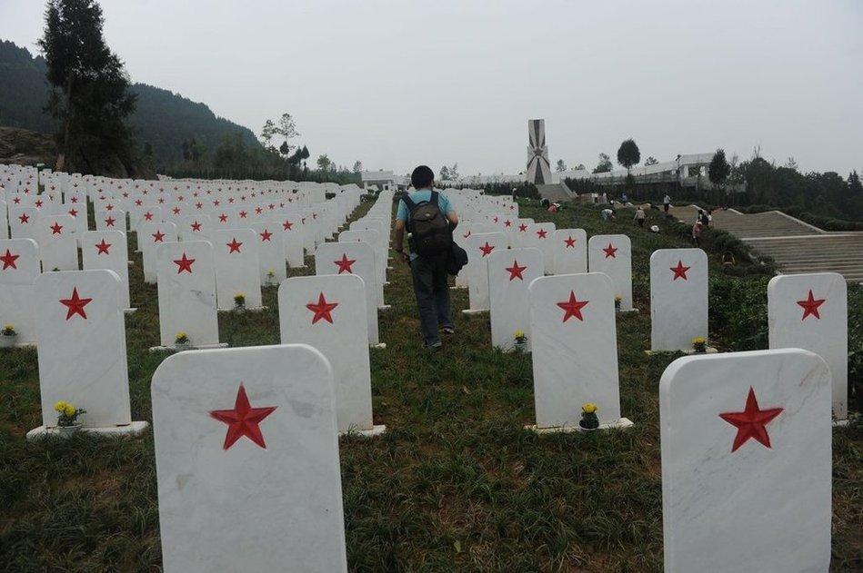 四川建成全国最大红军烈士陵园
