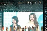 """4月21日,moussy""""中国女孩&KOBE COLLECTION""""2012昕薇平面模特大赛在上海世博中心非洲馆正式启动。日本著名模特加藤夏希作为嘉宾到场为本届大赛助阵,并表达了自己对大赛的美好祝愿。同时,昕薇专属模特也带来了精彩的时装秀。我要报名:"""