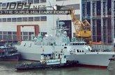 中国第二艘最新056型轻型护卫舰在广州下水(1/18) - 高山松 - gaoshansong.good 的博客