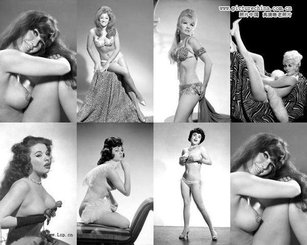 香艳性感:1940、50年代的美国舞娘