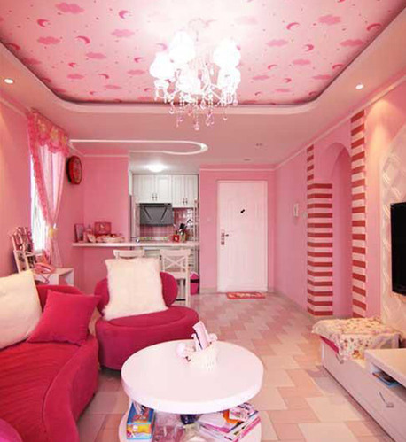创意设计 精美kitty主题房间图片