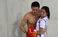 男子3米板:中国双保险丢金 美女何姿送安慰