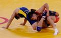 自由式摔跤63KG级 景瑞雪摘银日本名将3连冠