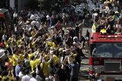 巴西女排回国州长接待