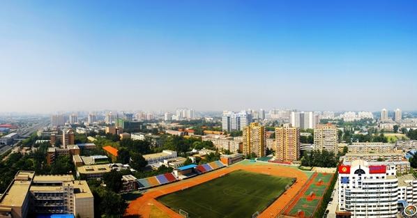 组图:中国传媒大学校园风景