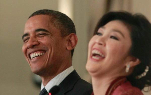 奥巴马安倍搞笑图片 奥巴马生吃鲑鱼肉 奥巴马图片