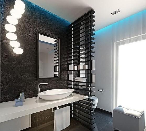 现代简约风范 卫浴间设计白色元素爱做主