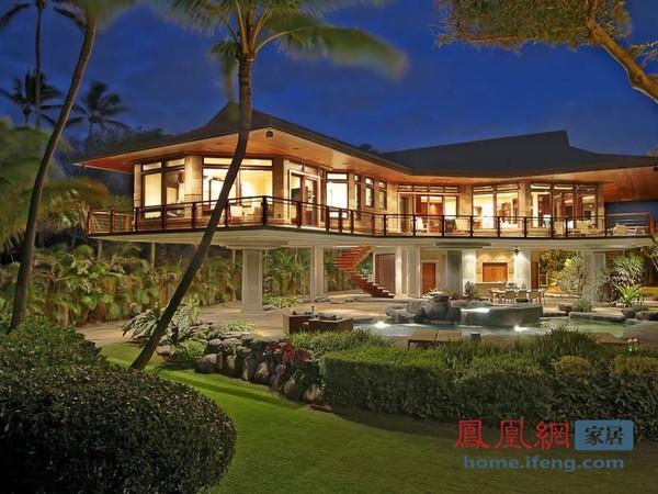 夏威夷住宅一览无敌海景 每天都仿若度假中