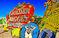 废弃霓虹灯之家 斑斑锈迹记录赌城历史