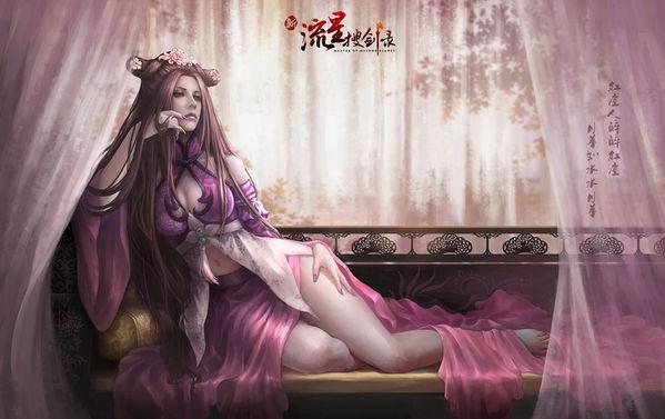 网络游戏3d美女_网游美女图片欣赏_CG作品_朱峰社区3D新闻
