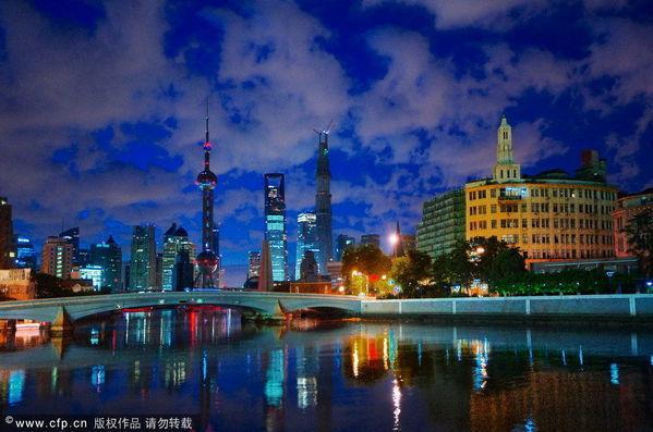 上海外滩高清图片