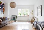 36平米多彩单身公寓 简单的艺术家之家