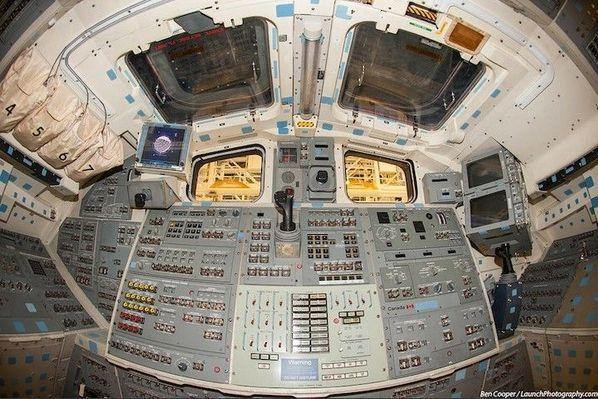 揭秘:美国航天飞机驾驶舱内部是啥样