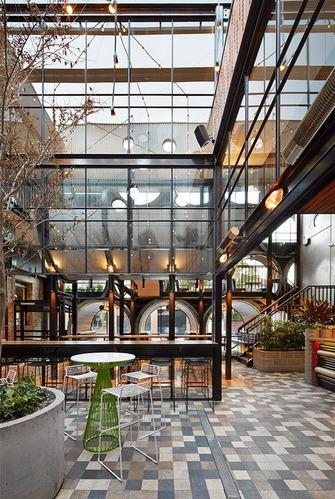 墨尔本水泥管餐厅设计 从管道里窥探一个故事